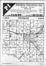 Appleton T120N-R43W, Swift County 1986 Published by Farm and Home Publishers, LTD